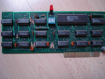 Clone carte Z80 made by myself.