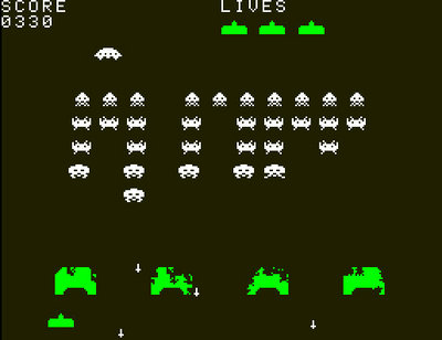 Space Invaders...