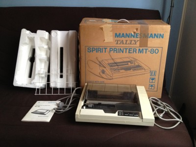 MANNESMANN TALLY Spirit Printer MT-80