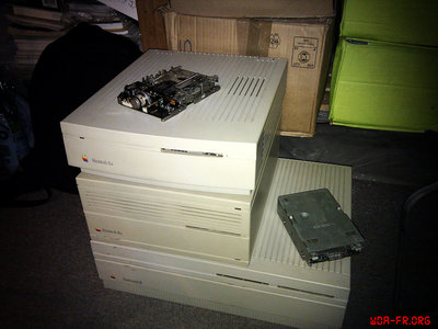 Quelques Macintosh Classic... (22/11/2012)