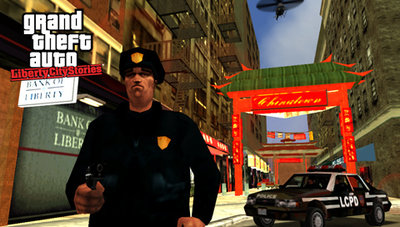 GTA Liberty City Stories sur PsP.