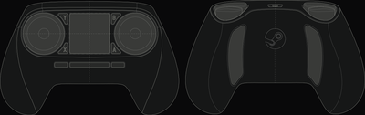 Steam Controller en schéma.
