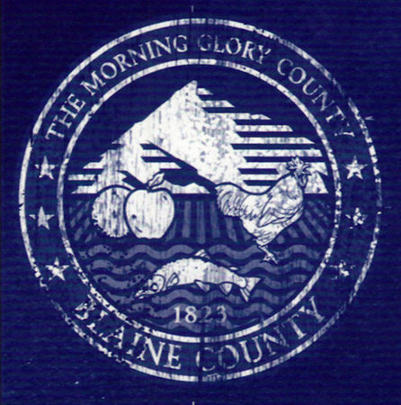 Logo de Blaine Country.