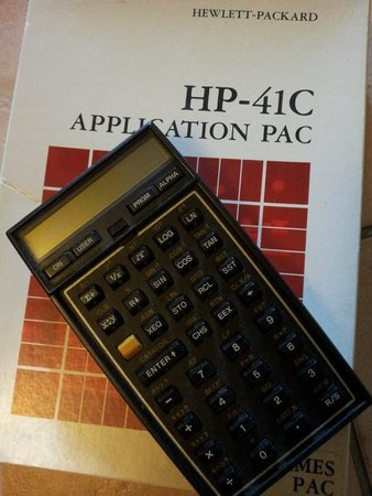 Hewlett-Packard (HP) 41C.