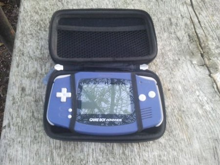 GameBoy Advance, 5€ aux puces.