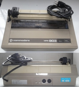 Imprimante Commodore MPS803.