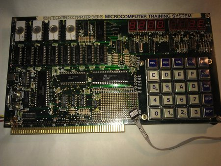 Picutre of my TK-80 computer board. <br />It is the german variant from ICS.