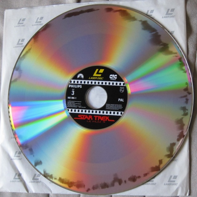 "Laser Disc ""STAR TREK - Le Film"" - 1981."