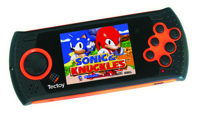 Tectoy MD Play noire/orange.
