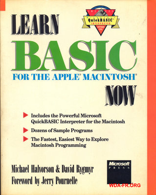 Learn BASIC for the APPLE Macintosh NOW